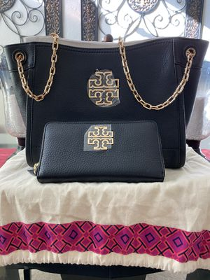 Brand new TORY BURCH small tote bag and wallet for Sale in Vacaville, CA