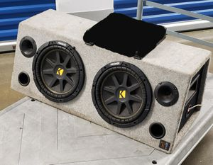 """Kicker 12"""" Car Subwoofers Enclosure - The 12"""" Speakers are Busted for Sale in Washington, DC"""