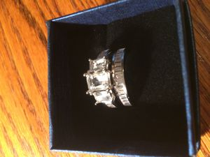 Silver engagement ring with band size 9 for Sale in Birmingham, AL