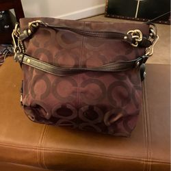 Brown Coach Bag for Sale in Clinton,  MD