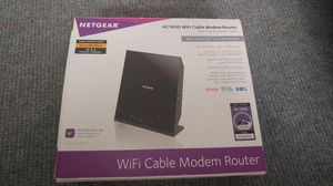 NETGEAR C6250-100NAS AC1600 (16x4) WiFi Cable Modem Router cox time Warner for Sale in San Diego, CA