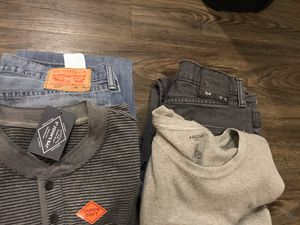 Used men's clothes for Sale in Live Oak, TX