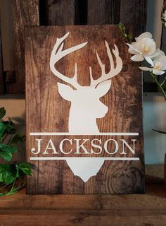 Family last name decor real solid wood living room for Sale in Carriere, MS