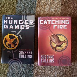 The Hunger Games Books Books For Sale 2 Reading Books MAKE ME AN OFFER!!!! for Sale in San Bernardino, CA