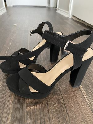Black High Heeled Dress Shoes for Sale in Austin, TX