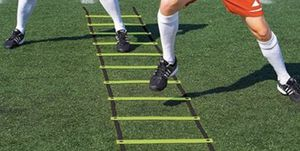 Brand new Super Flat Rungs Adjustable Speed Agility Ladder with Free Carry Bag. for Sale in Plano, TX