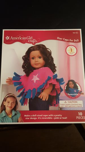 American Girl Star Cape for doll for Sale in Westlake, OH