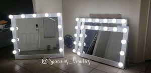 Valentine's Day Sale! XL Vanity makeup mirror 36x42 for Sale in Jurupa Valley, CA