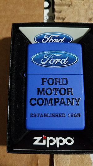 Zippo Ford royal blue matte 28838 for Sale in Los Angeles, CA