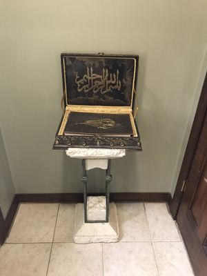 Quran with stand for Sale in Dearborn, MI