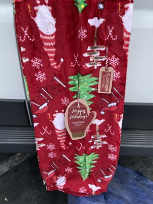 "New Christmas blanket 60"" x 70"" for Sale in Cerritos, CA"