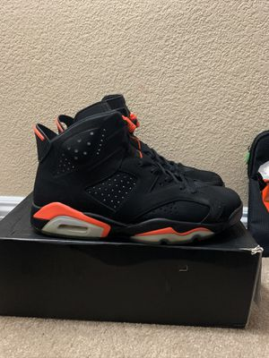 Jordan retro 6 infrared for Sale in Mountain View, CA