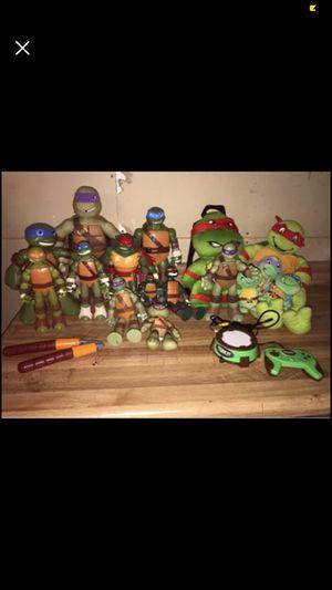 Ninja turtle lot! for Sale in Menomonie, WI