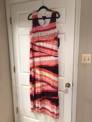 SIZE 18 LONG SUMMER DRESS BRAND NEW WITH TAG for Sale in South Brunswick Township, NJ