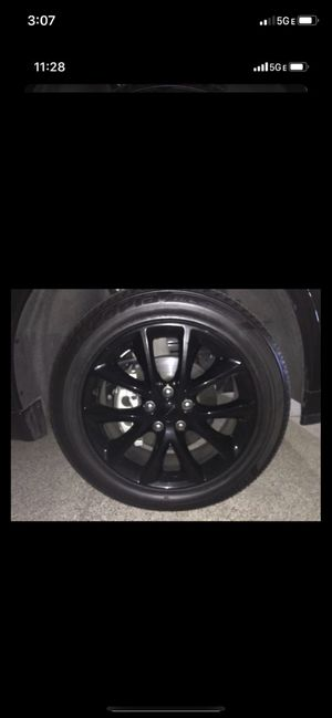 """Rims and tires 20"""" for Sale in Damascus, OR"""
