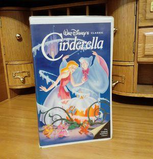 Disney's Black Diamond Cinderella VHS VCR Movie for Sale in Modesto, CA