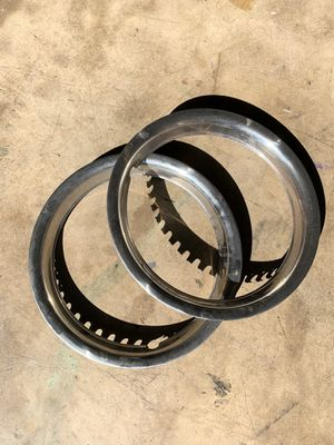 """Two 15"""" Trim rings for rims in good shape for Sale in San Antonio, TX"""
