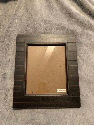 Black Wood Picture frame for Sale in Pompano Beach, FL