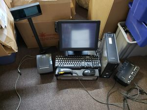 This is for a full POS computer register setup with everything included used for Sale in Artesia, CA