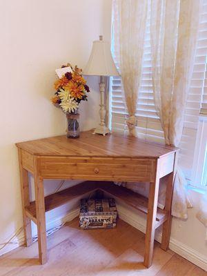 Bamboo Corner Desk for Sale in Santa Ana, CA