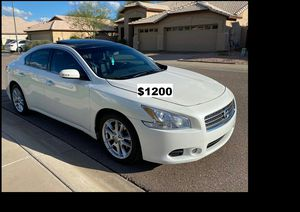 2009 Nissan Maxima Price$1200 for Sale in Bismarck, ND
