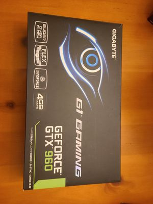 Gigabyte g1 gaming gtx 960 4gb for Sale in Everett, WA