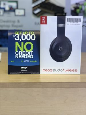 Beats Studio 3 Wireless Headphone (No Credit Needed!!) As low as 39$ down today! for Sale in Los Angeles, CA