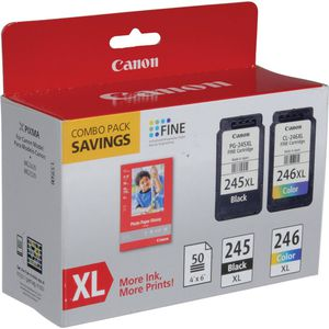 Canon 245XL -246XL Printer Ink Cartridge Combo Pack BRAND NEW IN BOX for Sale in San Antonio, TX