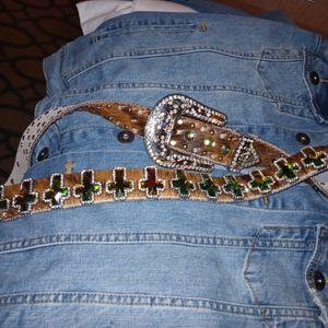 Western. Crystal Cross Belt for Sale in Arlington, TX