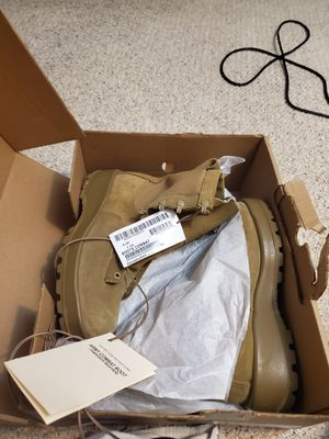 Size 10 Brand new standard issue Rmy OCP combat boots for Sale in UPPR MARLBORO, MD
