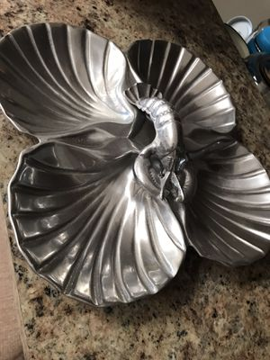 Vintage silver dish for Sale in Naperville, IL