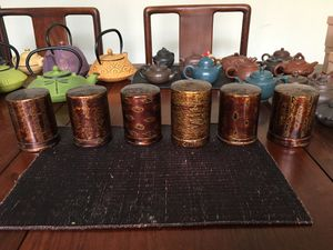 Set of 6 lacquer containers for Sale in Los Angeles, CA