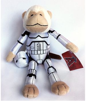 Star Wars angels rally monkey for Sale in Anaheim, CA