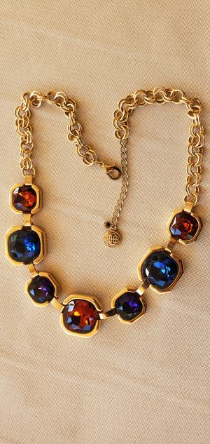 Dana Buchman gold tone studded necklace and bracelet for Sale in Henderson, NV