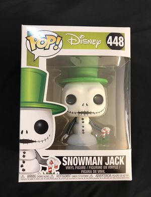 Funko Pop! The Nightmare Before Christmas Snowman Jack for Sale in Santa Ana, CA