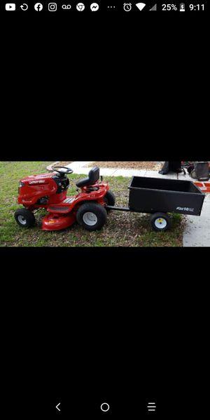 Troy Built lawn mower w cart for Sale in Dover, FL