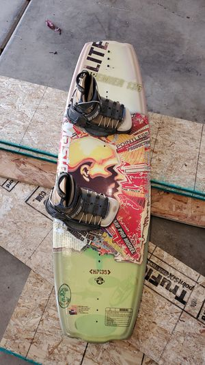 Surfboard with shoes and mountings for Sale in Las Vegas, NV