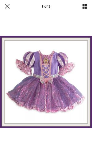 100% DISNEY STORE RAPUNZEL COSTUME FOR BABY SIZE 3-6 MOS for Sale in Las Vegas, NV