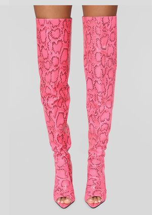 Over the Knee Serpentine Sexy Stiletto Boots for Sale in Jonesboro, GA