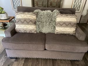 Gray couches for Sale in Temecula, CA