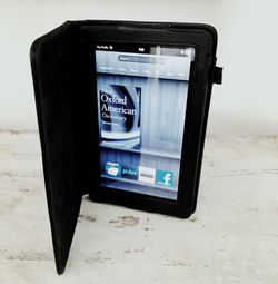 Amazon Kindle Fire w/ Leather Case and Charger for Sale in Scottsdale,  AZ