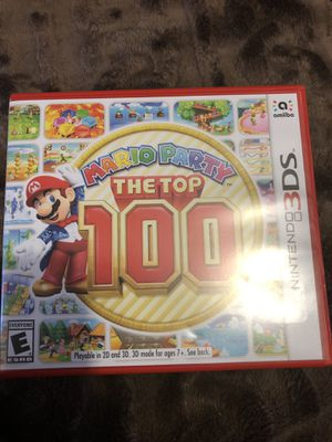 Mario party the top 100 for Sale in Auburn, WA