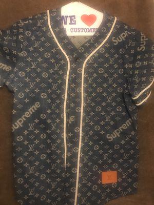 LV x Supreme baseball jacket for Sale in Washington, DC