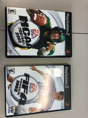 PS 2 sports games bundle for Sale in Washington, DC
