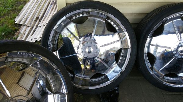 All Chrome Limited 26s