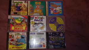 PC Learning Games....some are vintage!! for Sale in Fort Wayne, IN
