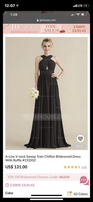 Black gown for any occasion for Sale in Laurel, MD