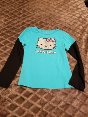 Girls Hello kitty Shirt Size 5 for Sale in Riverside, CA