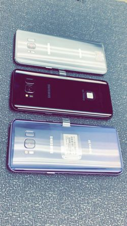 Samsung Galaxy S8 64GB Factory Unlocked / ATT T-Mobile Verizon Sprint Starting @ for Sale in Arlington,  TX