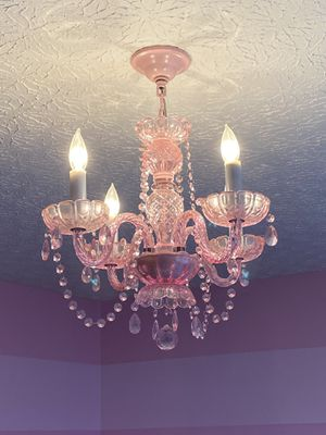 Pink Chandelier for Sale in Lewis Center, OH
